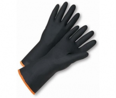 35cm Neoprene Chemical Resistant Gloves