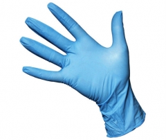 "9"" Nitrile Gloves - Powdered"