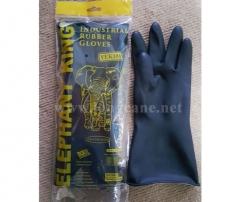 Black Industrial Rubber Gloves