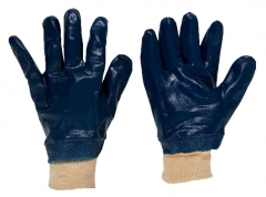 Cotton Jersey Nitrile Coated Gloves