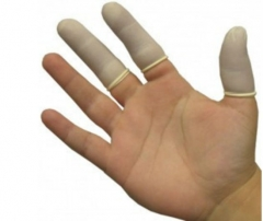 Finger Cots (Chlorinated Yellow)