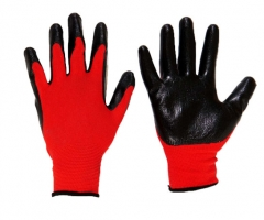 Nitrile Palm Coated Gloves